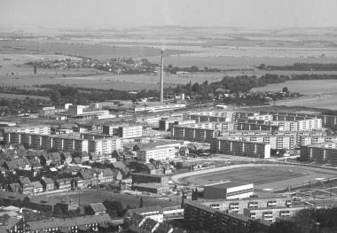 Neubaugebiet Stadtfeld 1982 - Dieter Oemler