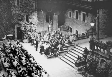 Serenadenkonzert im Schlosshof - Dieter Oemler