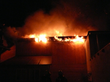 Brand in der Hinterstraße in der Nacht zum 7. Mai - Polizeidirektion Sachsen-Anhalt Nord Polizeirevier Harz Pressestelle
