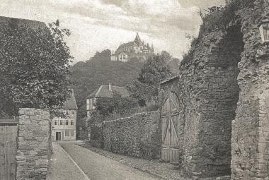 Burgtor vor dem Abriss um 1880 - gemeinfrei
