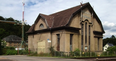 Reste des ehemaligen Kraftwerkes © Wolfgang Grothe