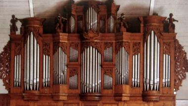 Sauer-Orgel auf der Westempore © Wolfgang Grothe