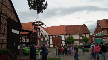 Maibaum in Silstedt