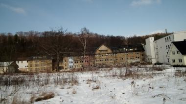 Das Geländeder ehemaligen Schokoladenfabrik 2006 © Wolfgang Grothe