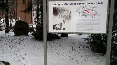 """Gedenkstein an der """"Steinernen Renne"""" © Wolfgang Grothe"""