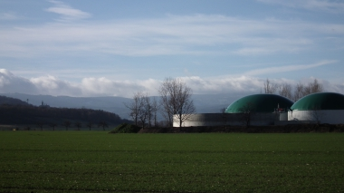 Biogasanlage in der Agrargenossenschaft Nordharz e.G. Silstedt-Benzingerode © Wolfgang Grothe