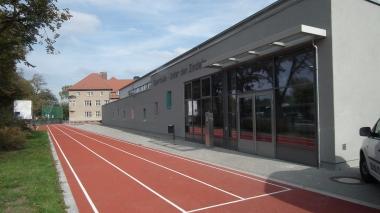 Neue Turnhalle Unter den Zindeln © Wolfgang Grothe