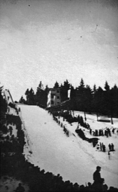 Sprungschanze am Eckerloch - 1. Wintersportmeisterschaften der DDR März 1950 - Olaf Mrosowski