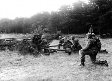 Kampfgruppenübung bei Wernigerode - Mahn-und Gedenkstätte Archiv