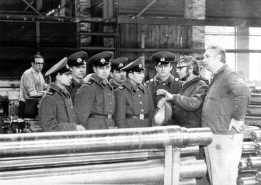 Sowjetische Soldaten 1973 in Wernigerode - Mahn-und Gedenkstätte Archiv