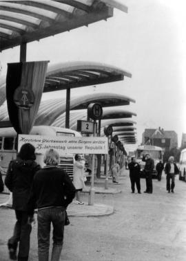 Busbahnhof - Mahn-und Gedenkstätte Archiv