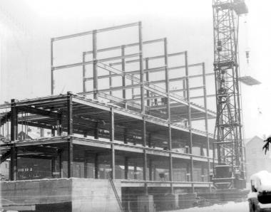 Bau am Kulturzentrum - Mahn-und Gedenkstätte Archiv