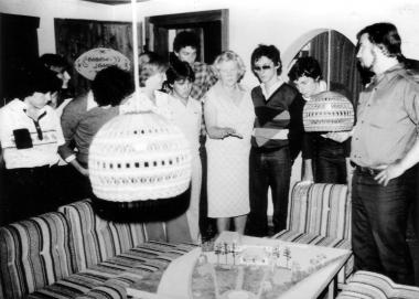 Besuch aus der Partnerstadt Carpi 1972 - Archiv Dieter Möbius