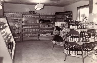 Geschäft im Einzelhandel 1962 - Stadtarchiv Wernigerode