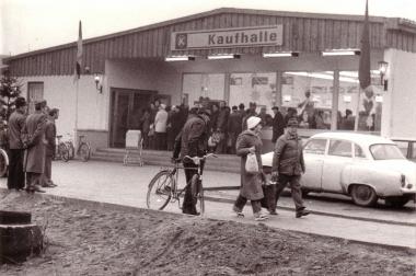 Konsum-Kaufhalle 1978 - Archiv Mahn- und Gedenkstätte