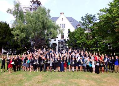 Feierliche Exmatrikulation der Absolventen des Fachbereichs Wirtschaftswissenschaften an der Hochschule Harz - Hochschule Harz