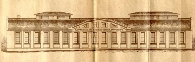 Kupferkessel-Fabrik in der Feldstraße 55 Zeichnung von 1925 - Bauarchiv