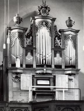 Orgel in der Sylvestrikirche - Fotothek Harzbücherei