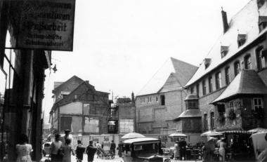 Umbau des Rathauses 1938 - Fotothek Harzbücherei