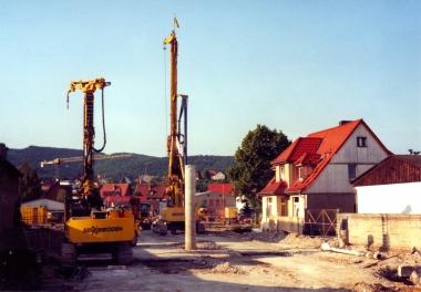 Tunnelbau am Veckenstedter Weg 2003 - Fotothek Harzbücherei