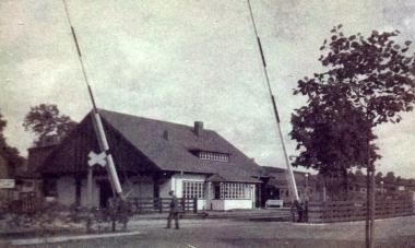 Bahnhof Westerntor 1936 - Fotothek Harzbücherei