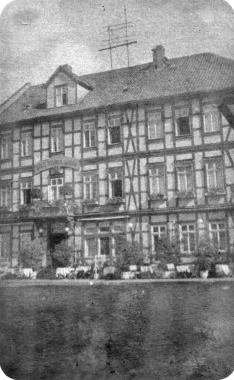 """Hotel """"Weißer Hirsch"""" 1936 - Fotothek Harzbücherei"""