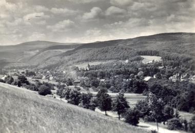 Blick vom Blockshornberg - Fotothek Harzbücherei