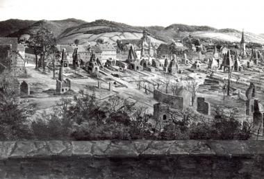 nach dem Stadtbrand 1847 - Fotothek Harzbücherei