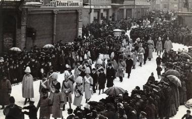 Beerdigung Fürst Otto I. zu Stolberg-Wernigerode - Fotothek Harzbücherei
