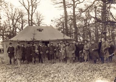 Hofjagd 1929 - Fotothek Harzbücherei