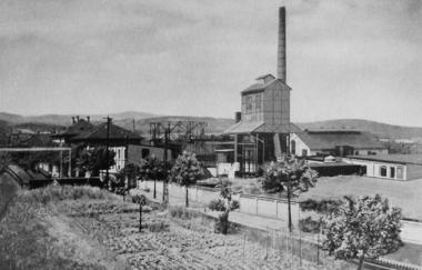Stadtisches Gaswerkes um 1925 - Frank Wiesner
