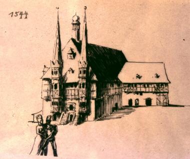 Rathaus 1544 - Stadtarchiv Wernigerode