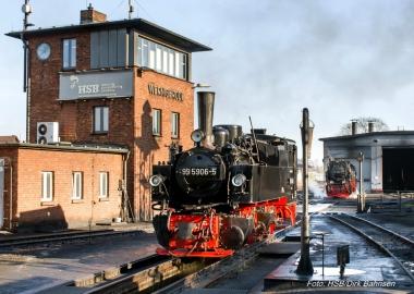 Historische Lokomotive - Dirk Bahnsen