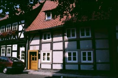 älteste Haus von Wernigerode im Heideviertel - Stadtarchiv Wernigerode