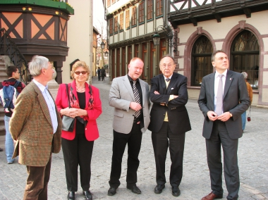 Hans-Dietrich Genscher als Gast des 12.Vasten-Colleg - Stadtverwaltung Wernigerode