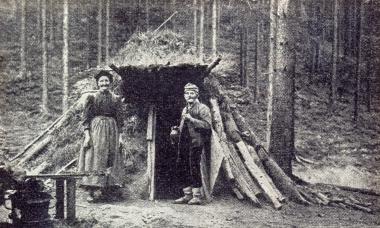 Alte Köhlerkate im Harz - Gerhard Bombös
