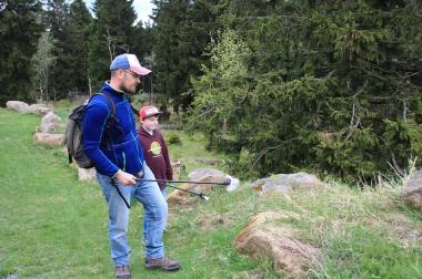 Pünktlich zum diesjährigen World Cleanup Day weitet der Nationalpark Harz seine erfolgreiche Müllsammelaktion #NoTrash nach dem erfolgreichen Start im Nationalpark-Besucherzentrum TorfHaus nun auch auf das Natur-Erlebniszentrum HohneHof aus. - Mandy Gebara