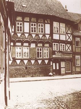 Marktstraße 5 1928 vor dem Umbau - Stadtarchiv Wernigerode