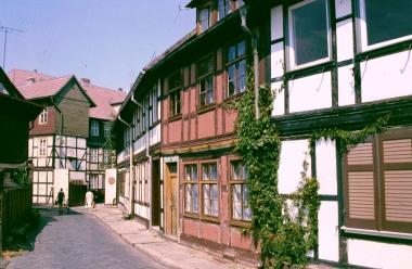Oberengengasse - Stadtarchiv Wernigerode