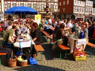 Bürgerfrühstück auf dem Markt - Stadtverwaltung Wernigerode