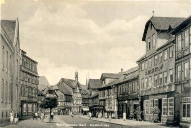 Marktstraße - Stadtarchiv Wernigerode