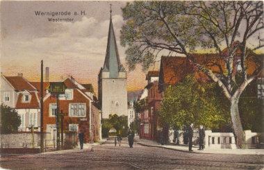 Westerntoraus dem Jahr 1250 - Stadtarchiv Wernigerode