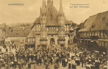 Rathaus - Stadtarchiv Wernigerode