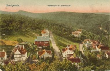 Salzbergtal mit Sanatorium - gemeinfrei