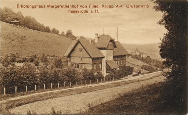 """Erholungshaus """"Margarethenhof"""" - Stadtarchiv Wernigerode"""