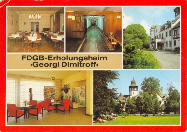 "FDGB Ferienheim ""Georgi Dimitroff"" - Stadtarchiv Wernigerode"