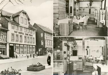 """HO-Hotel""""Zur Post"""" - Stadtarchiv Wernigerode"""