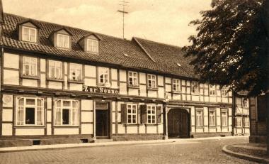 """Hotel """"Zur Sonne"""" - Stadtarchiv Wernigerode"""