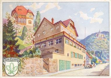 Hotel Eichberg - Stadtarchiv Wernigerode PK IV 0423