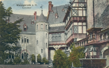 Schlosshof - Stadtarchiv Wernigerode
